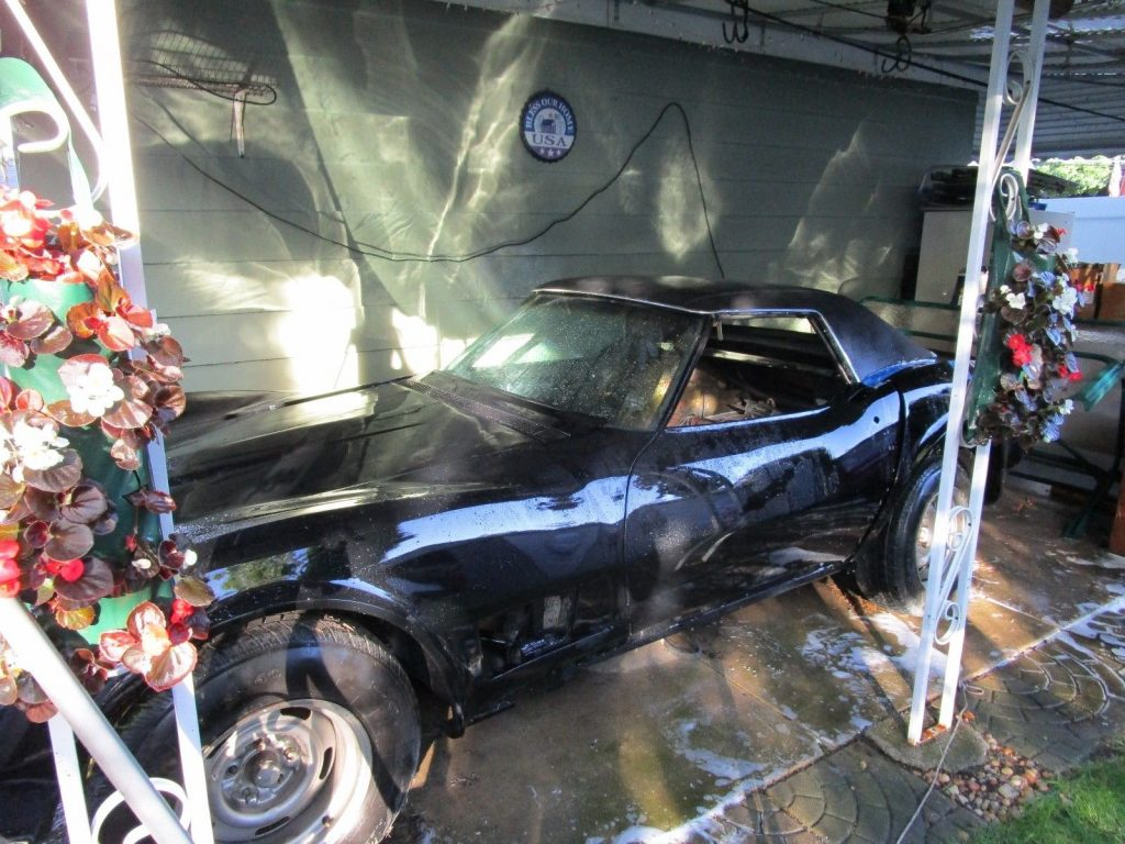 easy project 1972 Chevrolet Corvette project