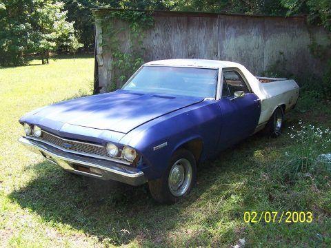 extra body parts 1969 Chevrolet El Camino project for sale