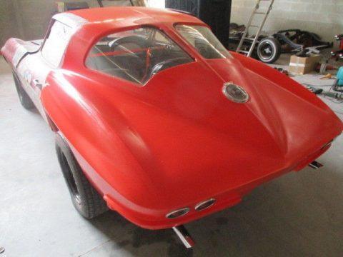 gasser 1963 Chevrolet Corvette project for sale