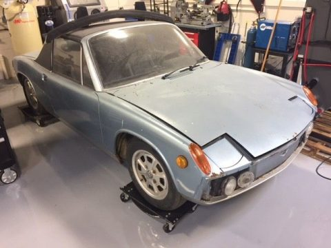 holy grail 1973 Porsche 914 2.0 project for sale