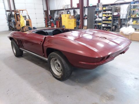 needs finishing 1966 Chevrolet Corvette projet for sale
