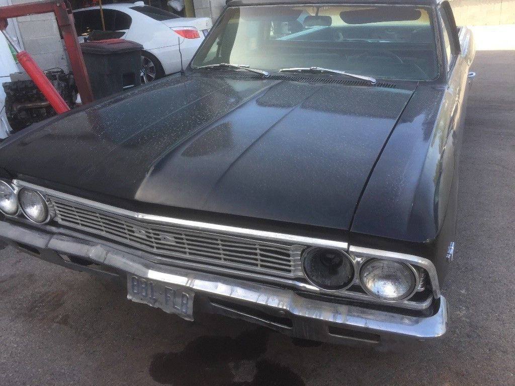 new parts 1966 Chevrolet El Camino project