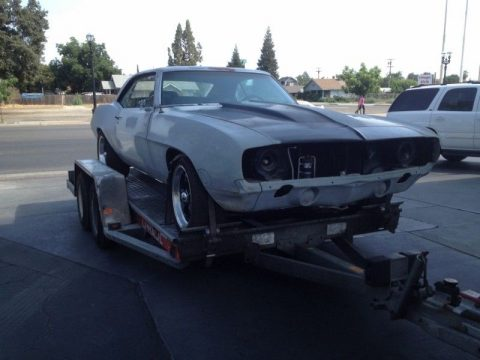 pro tour 1969 Chevrolet Camaro project for sale