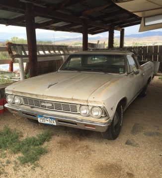 rebuilt engine 1966 Chevrolet El Camino project for sale