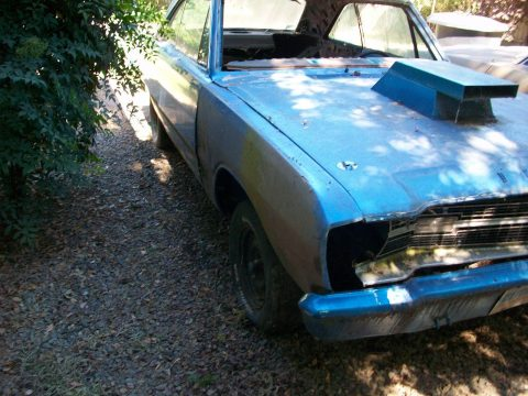 rolling body 1969 Dodge Dart project for sale