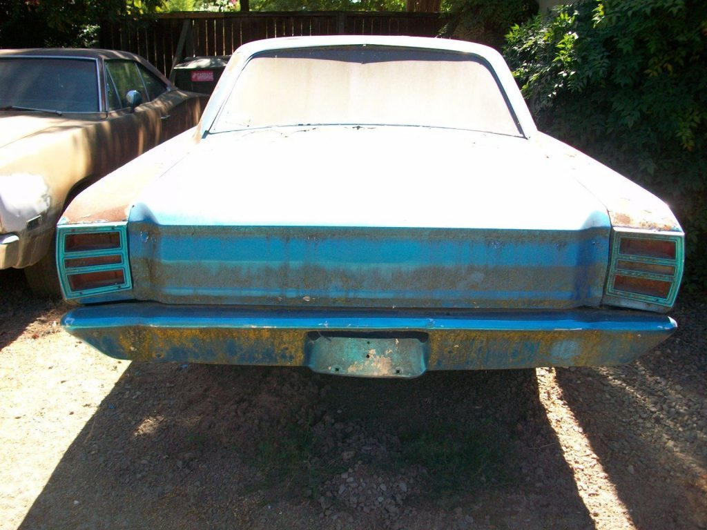 rolling body 1969 Dodge Dart project