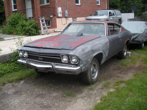 solid 1968 Chevrolet Chevelle project for sale