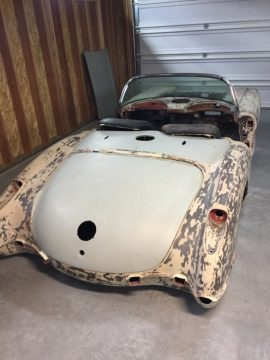 very rare 1959 Chevrolet Corvette project for sale