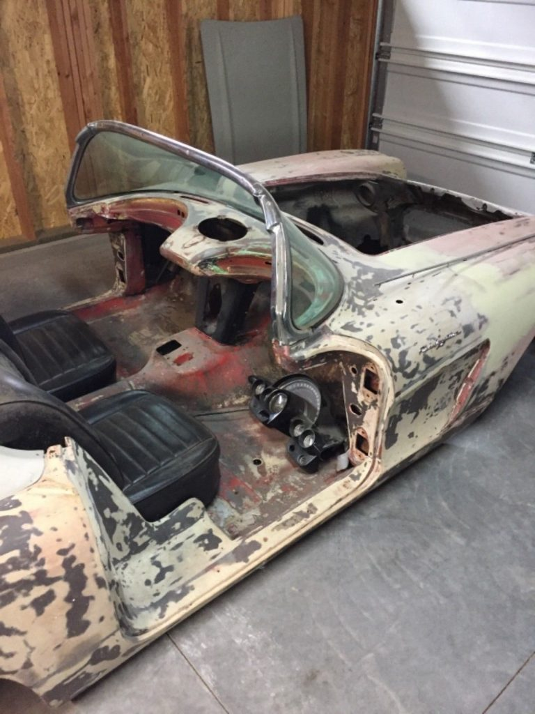 very rare 1959 Chevrolet Corvette project