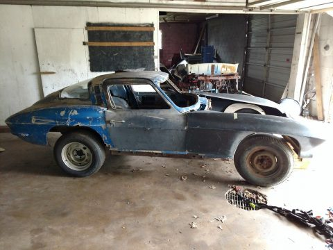 a lot of care needed 1965 Chevrolet Corvette project for sale