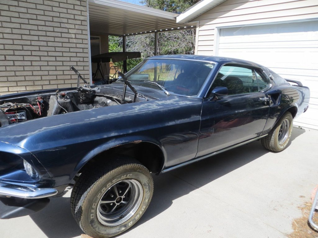 alternative engine 1969 Ford Mustang Mach 1 project