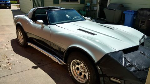 Camaro engine 1981 Chevrolet Corvette project for sale