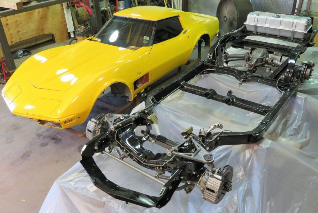 complete 1971 Chevrolet Corvette Coupe project