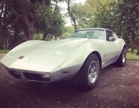 needs engine 1974 Chevrolet Corvette Project for sale
