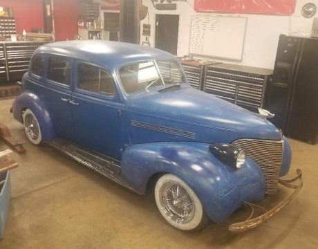 needs finishing 1939 Chevrolet Master hot rod project for sale