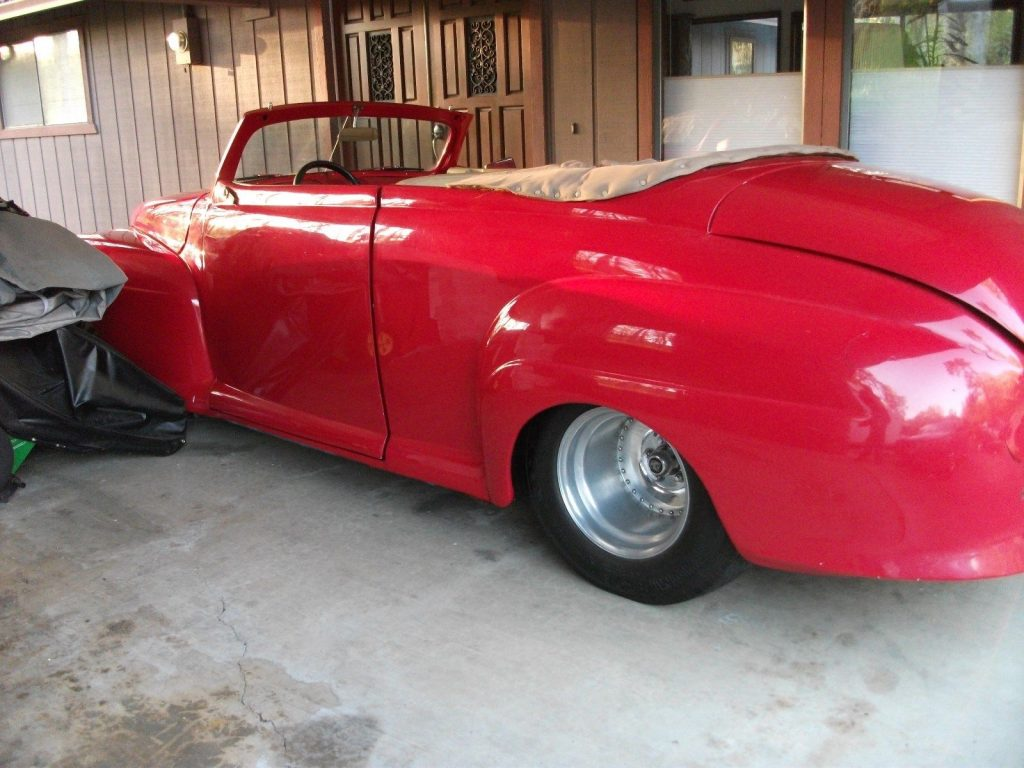needs finishing 1947 Mercury Convertible custom project