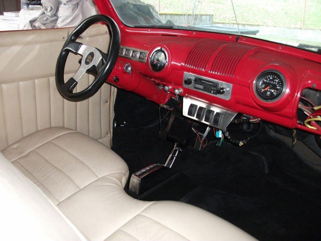needs finishing 1947 Mercury Convertible custom project