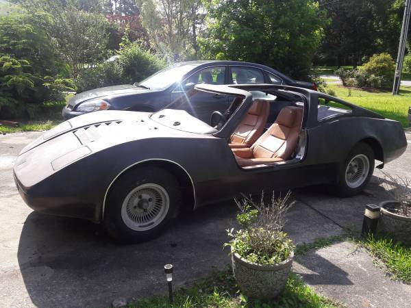 needs finishing 1974 Bradley GT Replica project