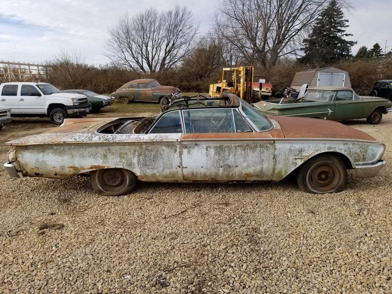 needs restoration 1960 Ford Sunliner Convertible