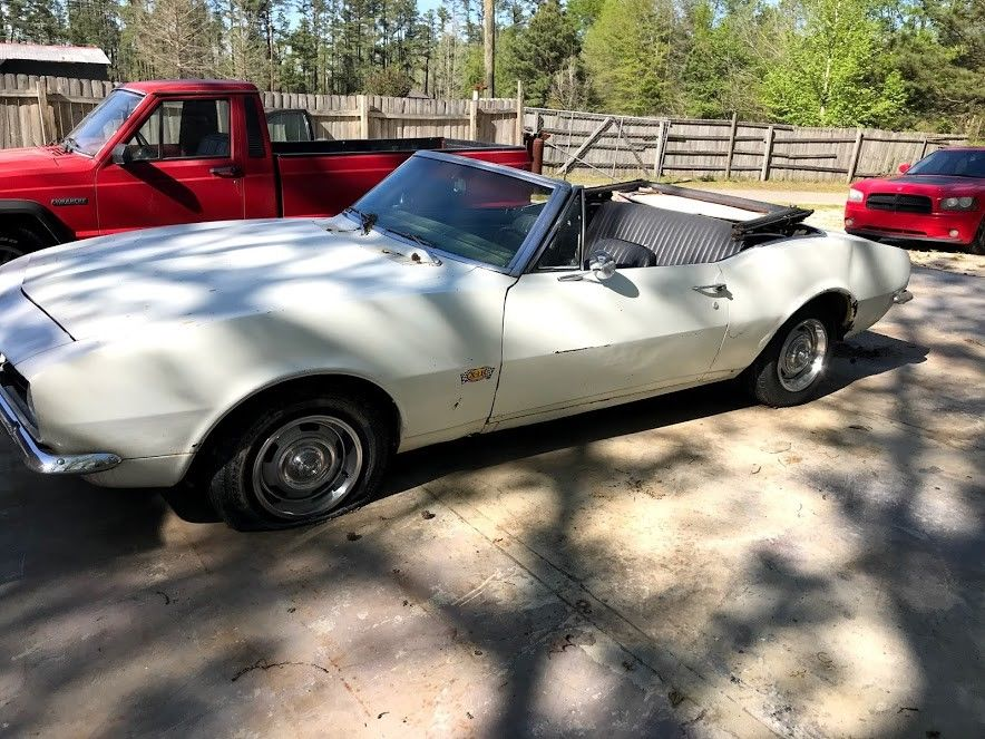needs tlc 1967 Chevrolet Camaro Convertible project