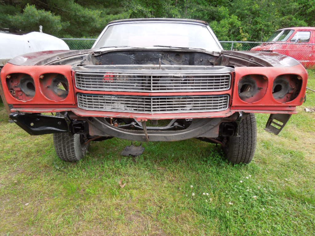 needs total restoration 1970 Chevrolet Chevelle project