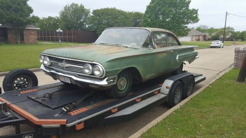 original paint 1960 Chevrolet Biscayne project for sale