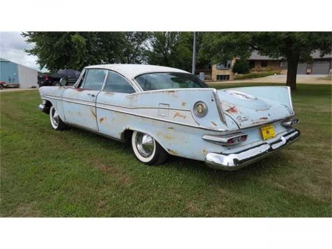 rare 1959 Plymouth Sport FURY project for sale