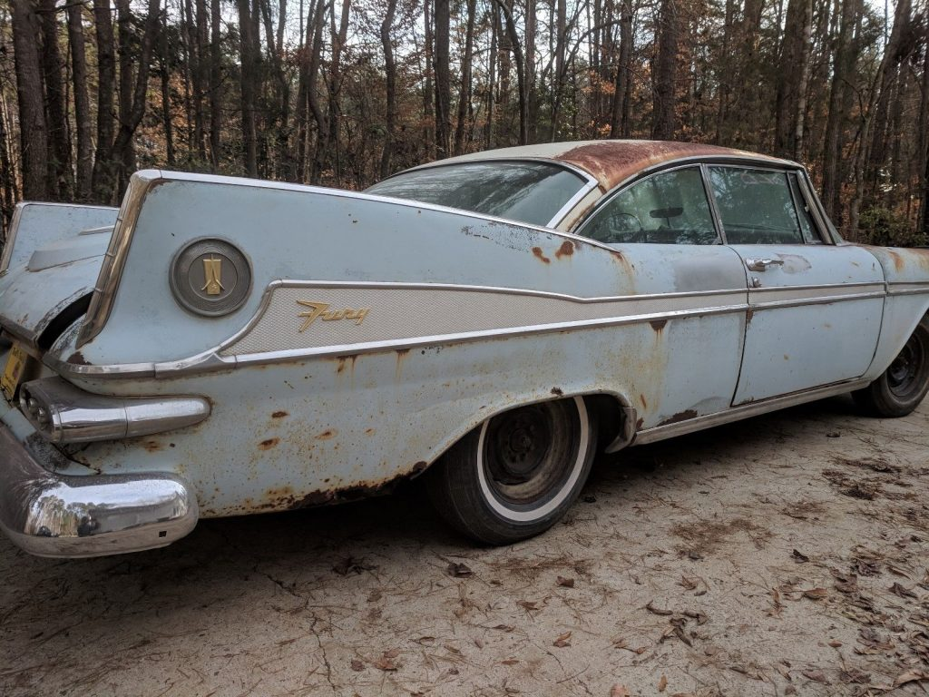rare 1959 Plymouth Sport FURY project