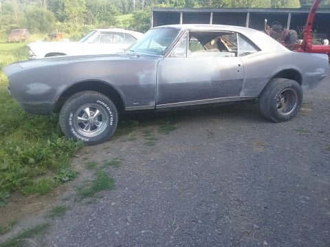 rusty 1967 Chevrolet Camaro project for sale