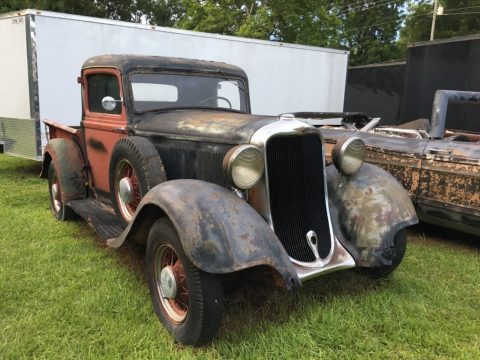 solid 1935 Dodge Pickups project for sale