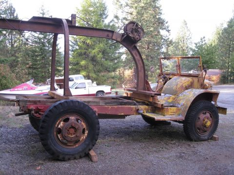 solid 1943 Ford GTBS Bomb Service Truck project for sale