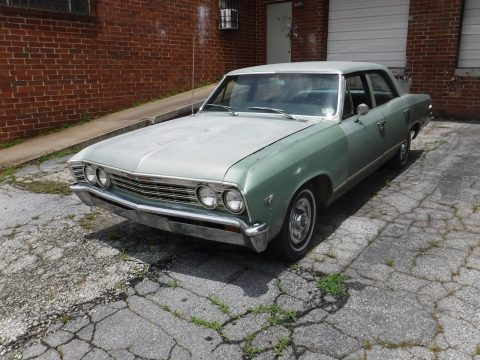 solid 1967 Chevrolet Chevelle Malibu Sedan project for sale