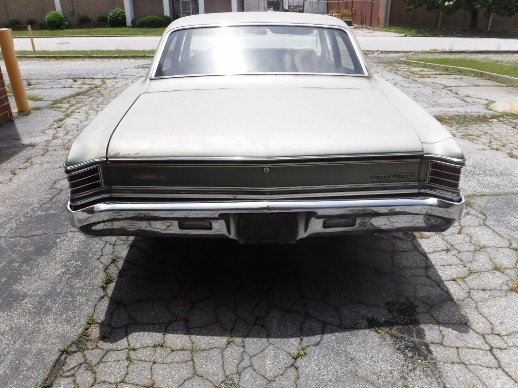 solid 1967 Chevrolet Chevelle Malibu Sedan project