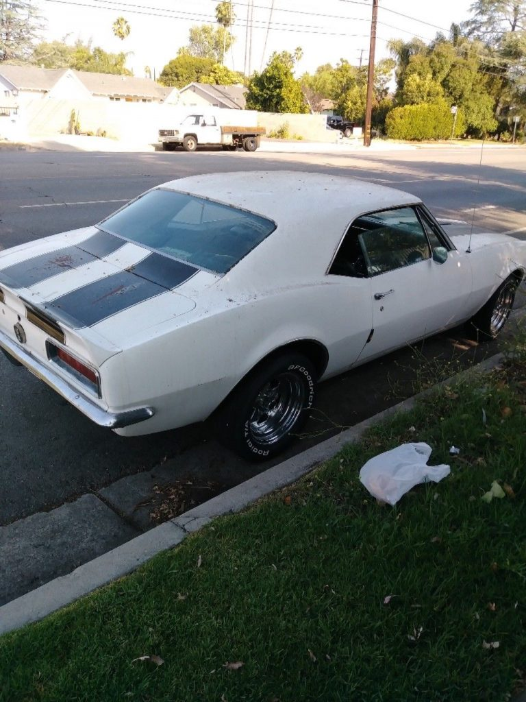 solid, just needs TLC 1968 Chevrolet Camaro SS project