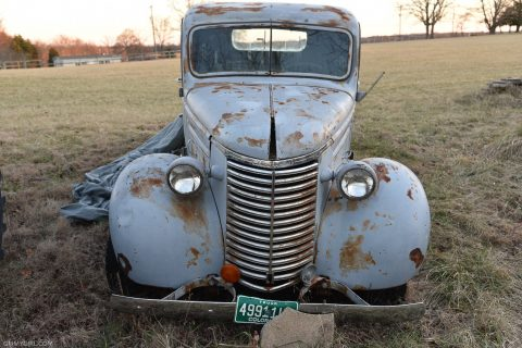 very solid 1939 Chevrolet Pickups project truck for sale
