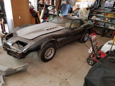 boxes of parts 1980 Chevrolet Corvette project for sale