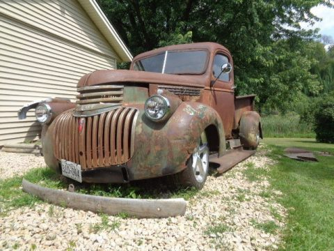 custom 1946 Chevrolet Pickup project for sale