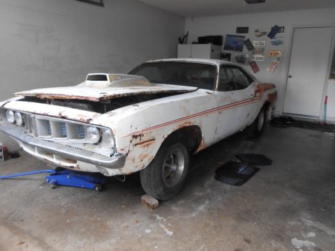 former race car 1971 Plymouth Barracuda project for sale