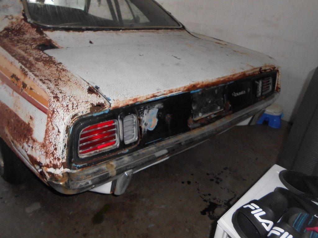 former race car 1971 Plymouth Barracuda project