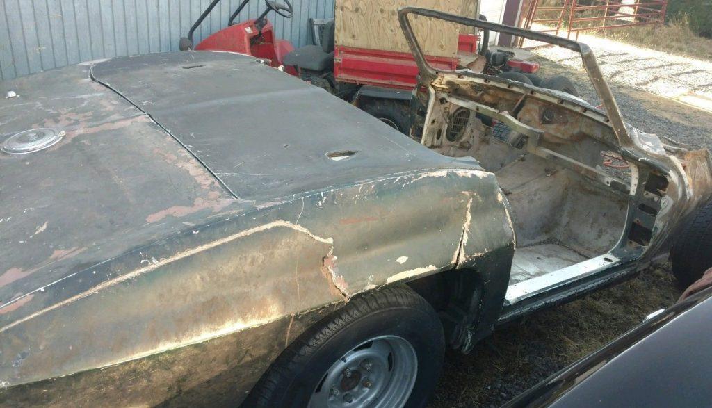 needs complete restoration 1964 Chevrolet Corvette Convertible project