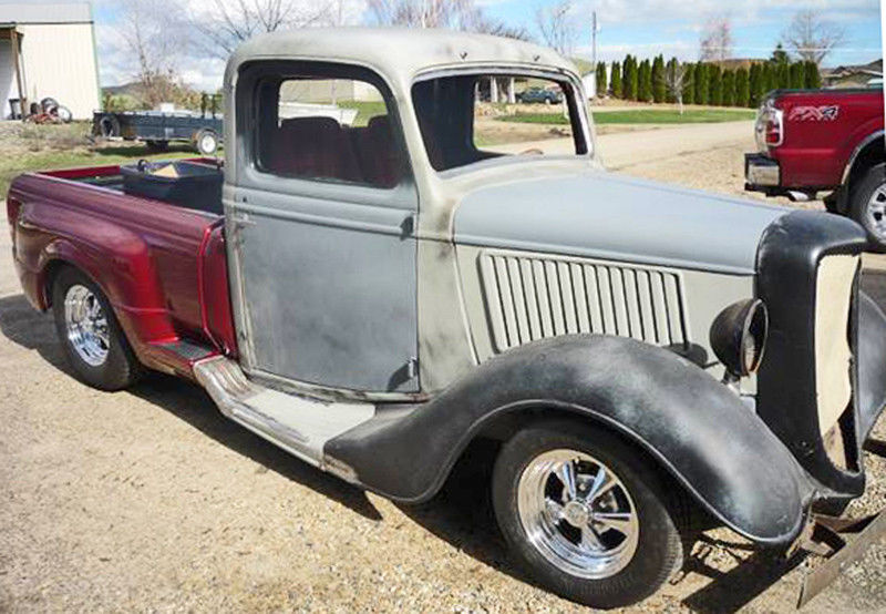 needs completion 1936 Ford Pickup project