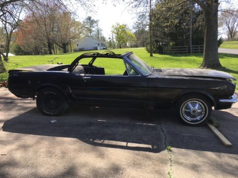 needs total restoration 1965 Ford Mustang convertible project for sale