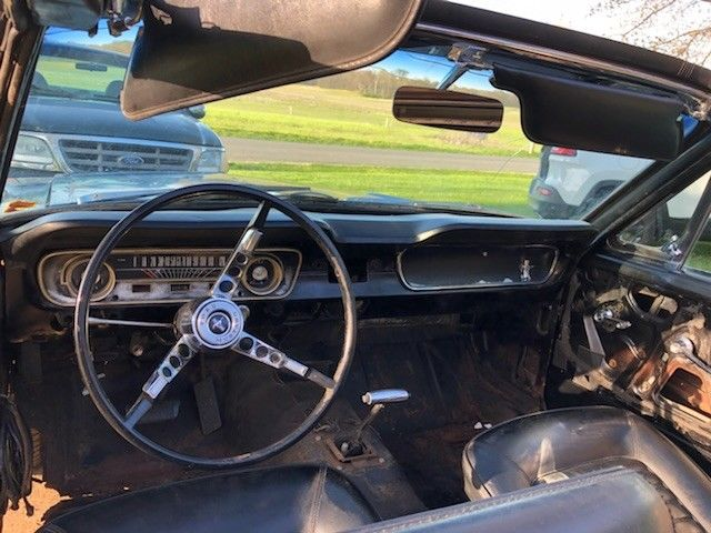 needs total restoration 1965 Ford Mustang convertible project