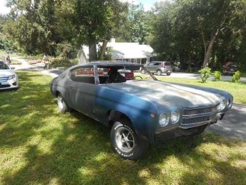 needs total restoration 1970 Chevrolet Chevelle SS project for sale
