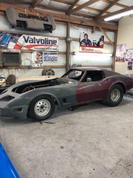 pro street 1971 Chevrolet Corvette project for sale