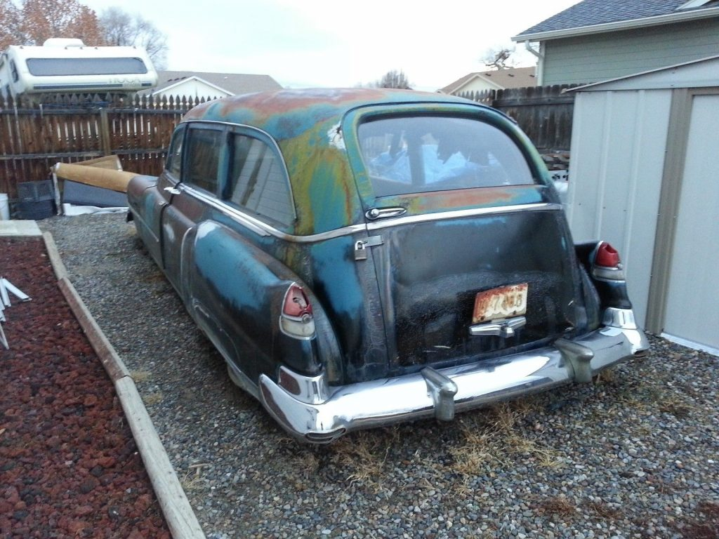 solid 1952 Cadillac Miller Meteor Hearse project