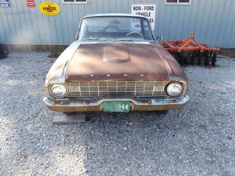 solid 1960 Ford Falcon Ranchero project for sale