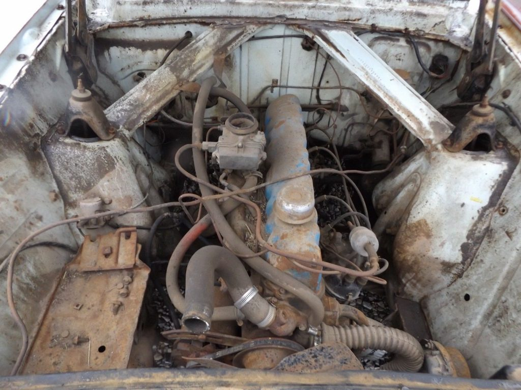 solid 1960 Ford Falcon Ranchero project