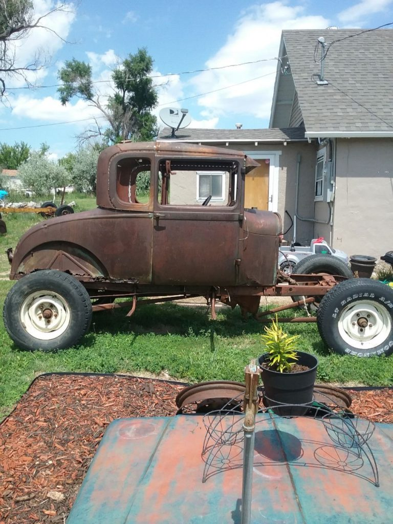 conversion coupe 1929 Ford Model A hot rod project
