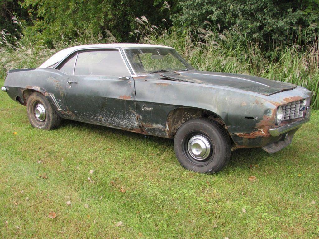 COPO tribute 1969 Chevrolet Camaro X11 project